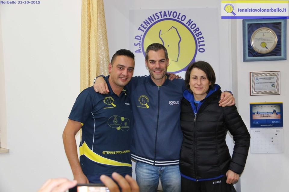 Max Mondello, Carrucciu Simone e Arisi Alessia - Norbello 31-10-2015
